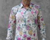 Chemise à fleur homme, j'assume mon coté féminin