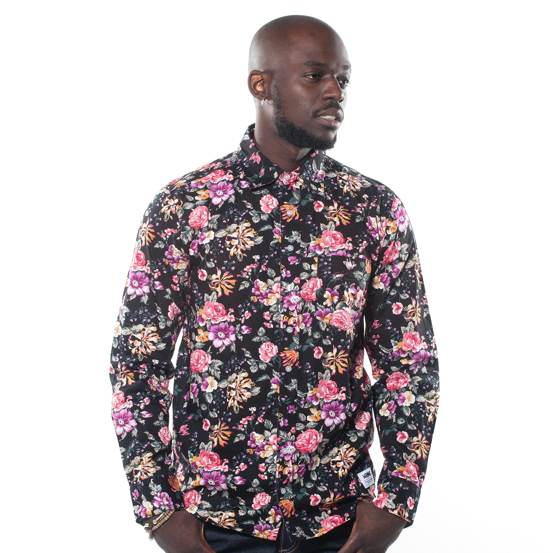chemise homme fleure chemise homme nouvelle arrivee fleurs coloree chemise homme nouvelle arrivee fl. Black Bedroom Furniture Sets. Home Design Ideas