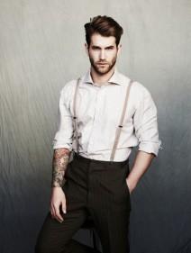 Bretelles fines pour avoir une tenue originale