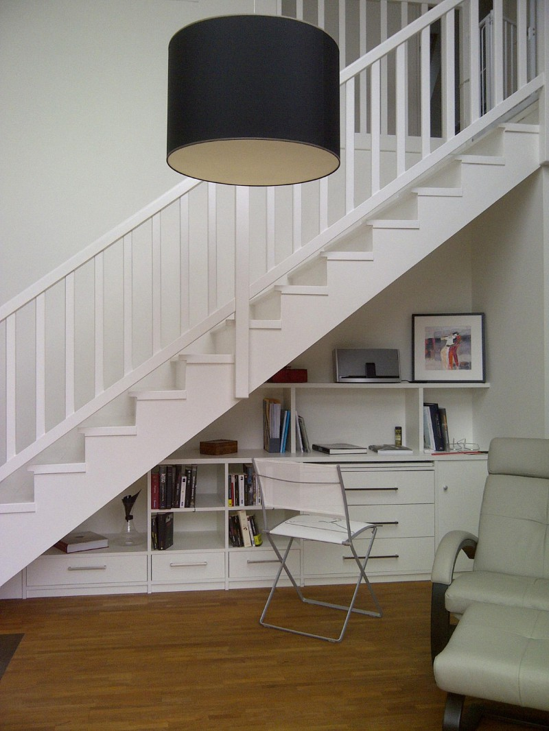 Amenagement Sous Escalier With Contemporain Escalier - Amenagement ...