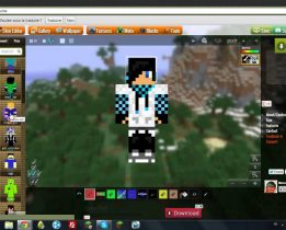 Comment se faire un skin minecraft ?