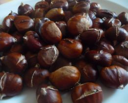 Comment cuire des marrons au four